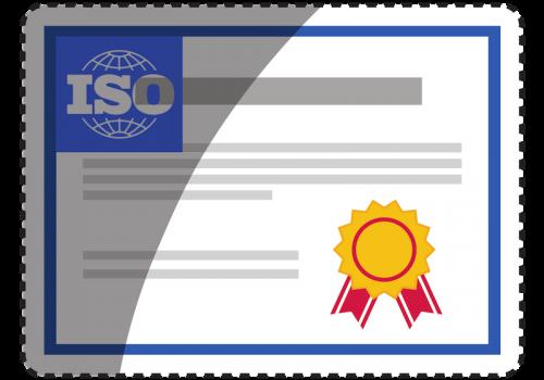 Bild ISO 27001 Zertifikat